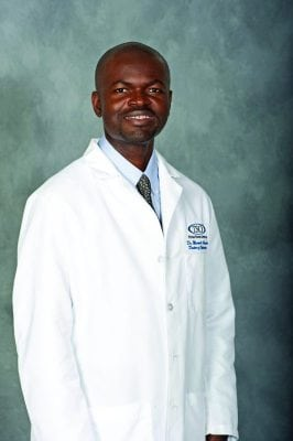 Eye Doctor Maxwell Olumba OD Houston TX