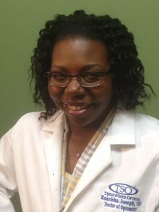 Eye Doctor Rokeisha L. Joseph O.D. Houston TX