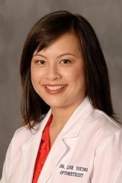 Eye Doctor Linh Yee-Young OD The Woodlands TX