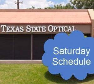 Eye Doctor Saturday Schedule Westlake Austin TX