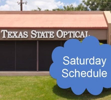 Eye Doctor Saturday Schedule Westlake Austin TX