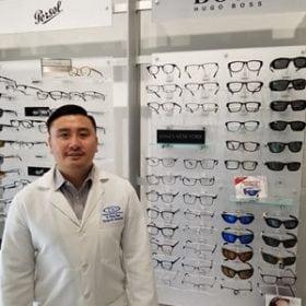 Boss Eyeglasses at TSO Spring Rayford