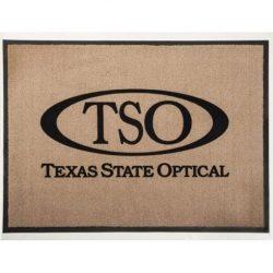3X4 TSO BRANDED DOOR MAT- TAN