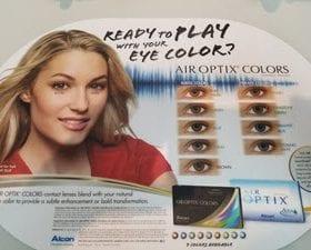 Alcon Color Contact Lens