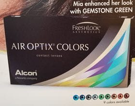 AirOptics Color Contacts