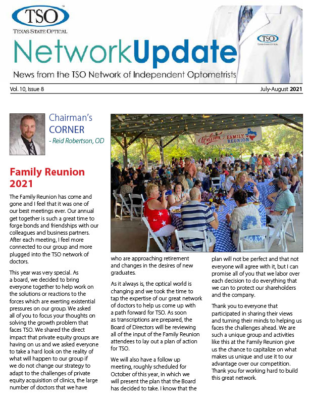 July - August 2021 Newsletter